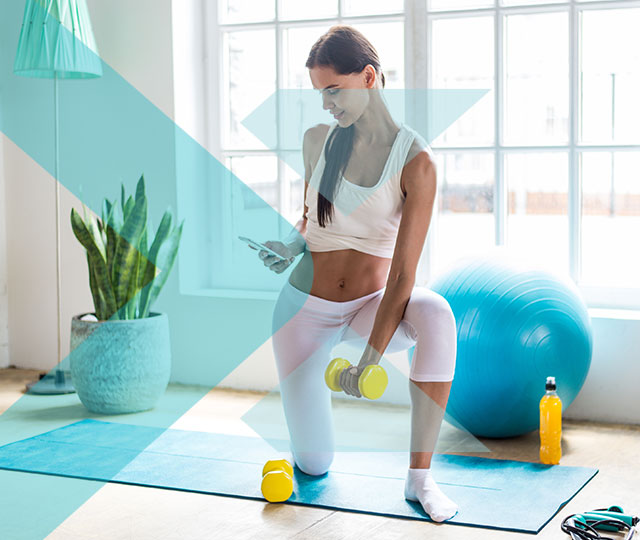 PERSONAL TRAINING AT YOUR FINGERTIPS
